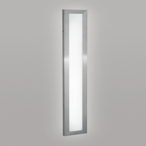 A flush-mounted linear luminaire with diffuse luminosity