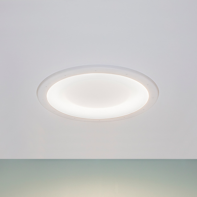 Symmetry behavioral health ceiling luminaire