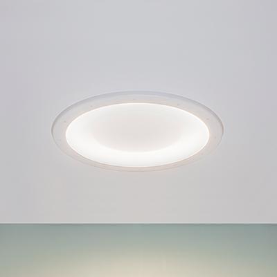 Symmetry behavioral health ceiling luminaire