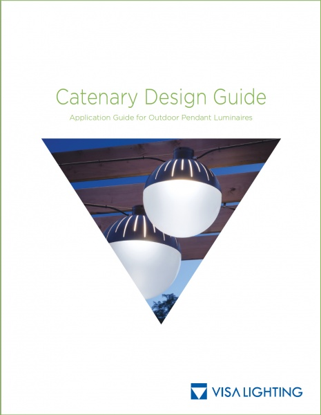 Outdoor Pendant Lighting Design Guide for Catenary Installations