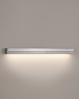 Passage models are sleek exterior architectural lighting fixtures for mounting horizontally over doorways, on facades, along paths of egress and window mullions.