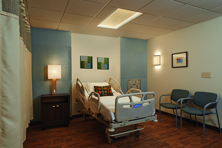 Serenity Patient Room Lighting