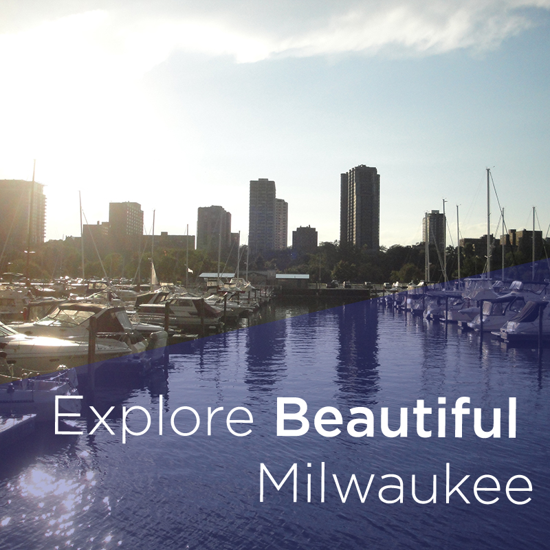View of Milwaukee from the harbor