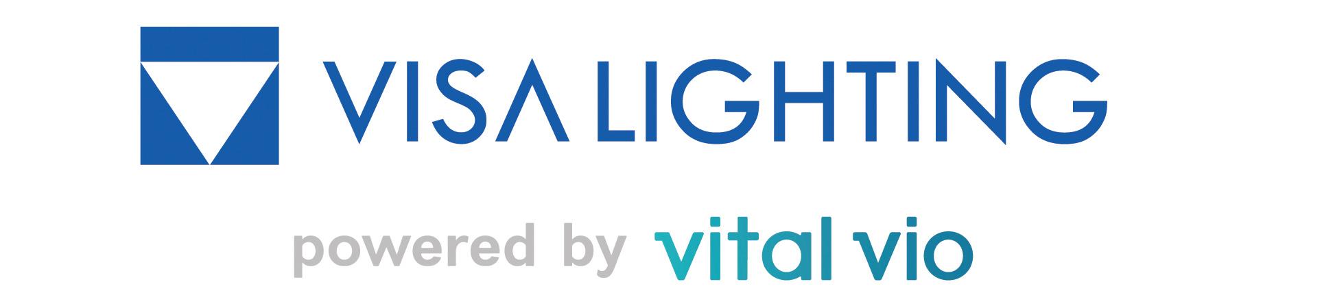 Visa Lighting powered by Vital Vio logo