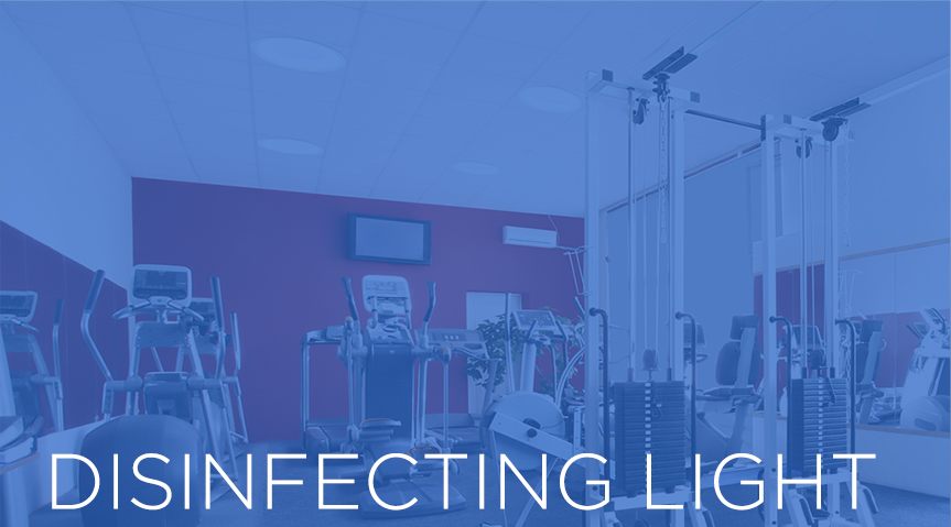 Disinfecting Light Landing Page Image